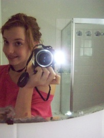 This is what happens when you leave a teenage girl with the camera, even at an open house...