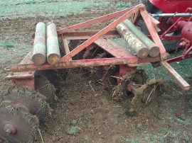 Plough weights. Four ended up being too much.