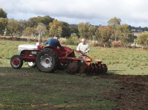 Trying to work out why the plough wasn't really ploughing.