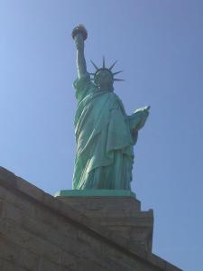 Lady Liberty. I'd rather have stayed home and worked on the farm...