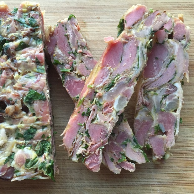 Smoked Pork Hock Terrine